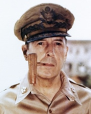 US WWII General Douglas MacArthur