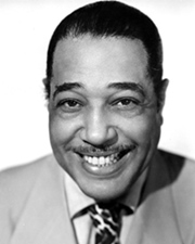 Jazz-orchestra leader, Composer, Pianist Duke Ellington
