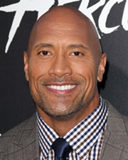 Actor and Professional Wrestler Dwayne Johnson