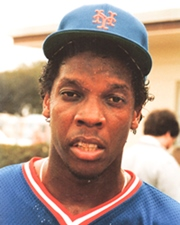 Baseball Pitcher Dwight Gooden