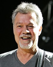 Hall of Fame rocker Eddie Van Halen