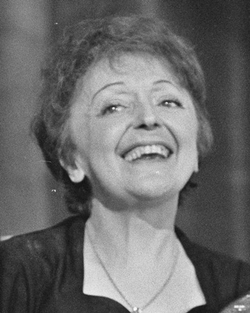 Edith Piaf Singer On This Day