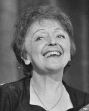 Singer Edith Piaf