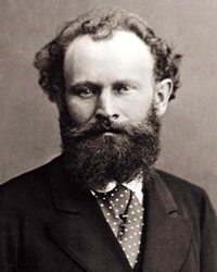 Impressionist painter Edouard Manet