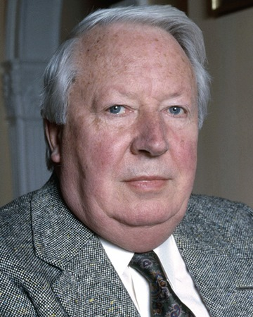 British Prime Minister Edward Heath