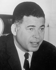 US Senator Edward W. Brooke
