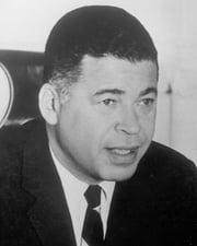 US Senator Edward W. Brooke