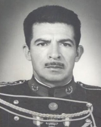 Dictator and President of Guatemala Efraín Ríos Montt