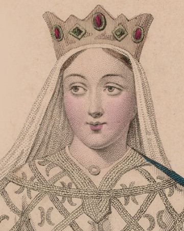 Queen of France and England and Duchess of Aquitaine Eleanor of Aquitaine