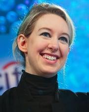 Entrepreneur and CEO of Theranos Elizabeth Holmes