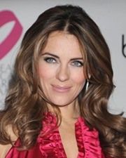 Actress Elizabeth Hurley