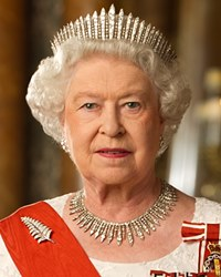 Queen of the United Kingdom Elizabeth II