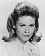 Actress Elizabeth Montgomery