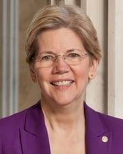 US Senator Elizabeth Warren