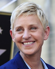 Comedian and TV Star Ellen DeGeneres