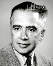 Physicist and Nobel Laureate Emilio G. Segrè