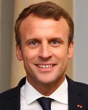 President of France Emmanuel Macron