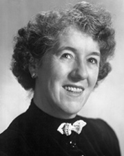 Children's writer Enid Blyton