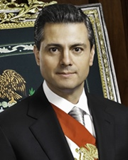 President of Mexico Enrique Peña Nieto