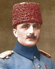 Leader of the Ottoman Empire Enver Pasha