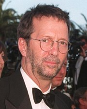 Rocker, Blues Guitarist and Singer-Songwriter Eric Clapton