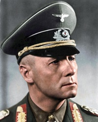 German WWII Field Marshal Erwin Rommel