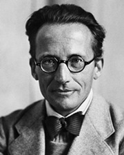 Physicist and Nobel Laureate Erwin Schrödinger
