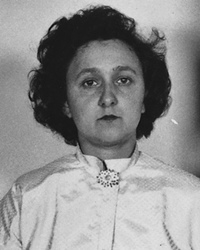 Alleged Soviet Spy Ethel Rosenberg