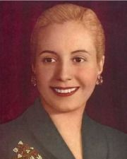 First Lady of Argentina Eva Perón