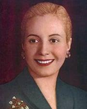 First Lady of Argentina Eva Perón