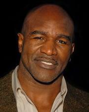 Boxer Evander Holyfield