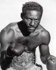 Boxer and World Heavyweight Champion Ezzard Charles