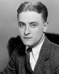 Author F. Scott Fitzgerald