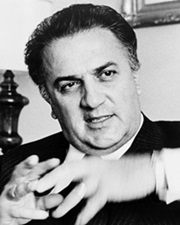 Film Director and Scriptwriter Federico Fellini