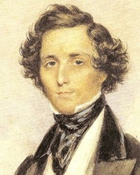Composer and Pianist Felix Mendelssohn
