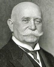 Inventor Ferdinand von Zeppelin