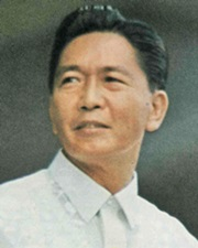 10th President of the Philippines Ferdinand Marcos