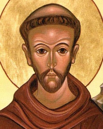Catholic Friar, Preacher and Saint Francis of Assisi
