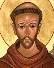 Catholic Friar and Preacher, Saint Francis of Assisi