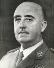 Spanish Dictator and General Francisco Franco