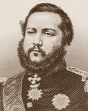 President of Paraguay Francisco Solano López
