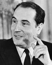 21st President of France Francois Mitterrand