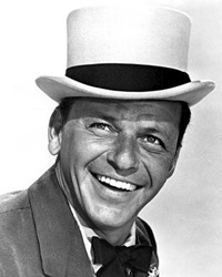 Singer and Actor Frank Sinatra