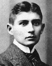 Writer Franz Kafka
