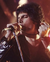 Singer-Songwriter Freddie Mercury