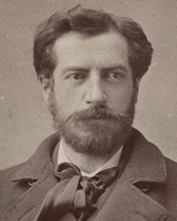 Sculptor Frederic Auguste Bartholdi