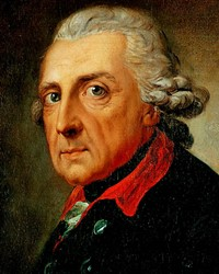 King of Prussia Frederick the Great