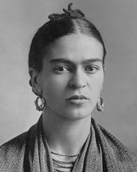 Painter Frida Kahlo