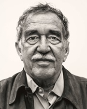 Colombian Writer and winner of the Nobel Prize in Literature Gabriel García Márquez