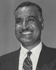 President of Egypt Gamal Abdel Nasser